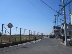 多摩川に出た