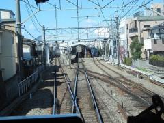 鷺ノ宮駅到着