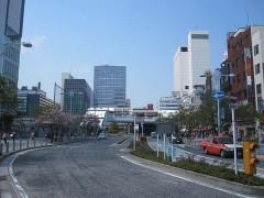 田町駅…出発とは反対側の出口