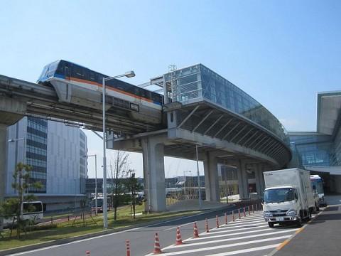 羽田空港国際線ターミナルに向かう