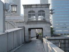 勝鬨橋から見てる人はいるけど…
