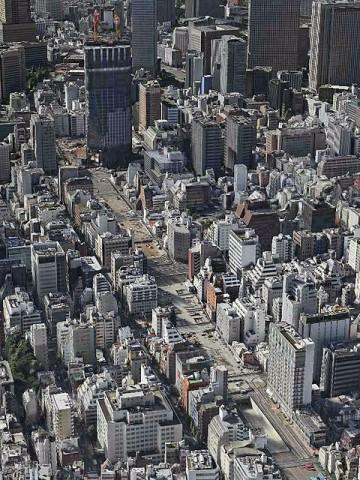 新虎通り(環二通り)…建設中