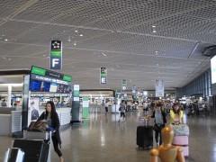 成田空港は2年ぶりくらい?