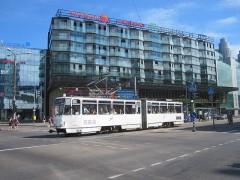新市街地は近代的