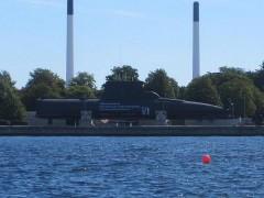 潜水艦の展示?
