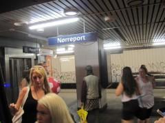当駅名しかない(コペンハーゲン)