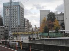 高田馬場‐新大久保間の道路拡幅工事