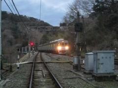 列車がやって来た