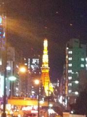 震災当日の東京タワー