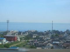 日本海も見えた