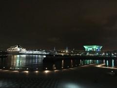 ベイブリッジ、大桟橋