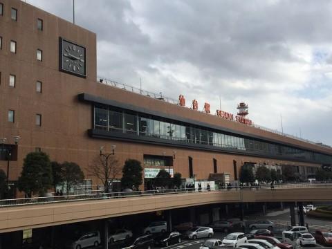 14時46分 仙台駅前