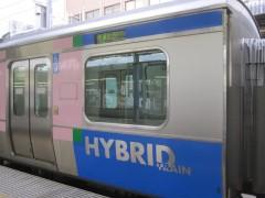 ハイブリッド式気動車HB-E210系