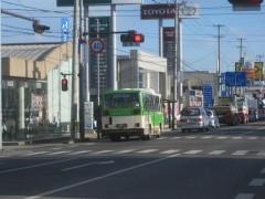 かつて都営バスとして走っていたバス