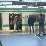 参考写真(埼京線池袋駅2000年12月28日)
