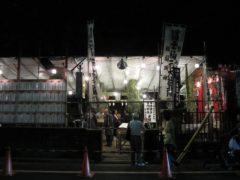 十条富士神社 富士塚正面