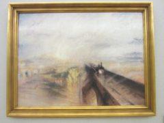 ターナー「雨、蒸気、速力:グレート・ウェスタン鉄道」