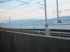 九州新幹線と分かれて…