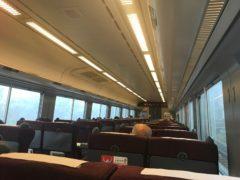 札幌に近づくにつれて増える乗客