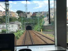 トンネルの真上に住宅