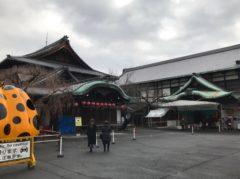 登録有形文化財「八坂倶楽部」で展示される