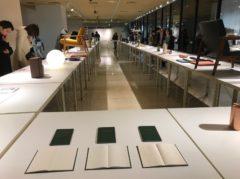 47都道府県の展示台がある