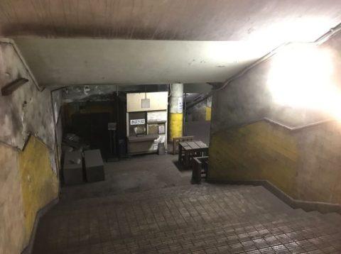 改札口とプラットホーム