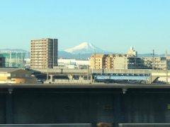 川越から富士山がよく見えていた