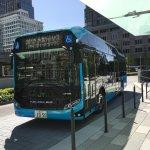燃料電池(水素)バスに乗る