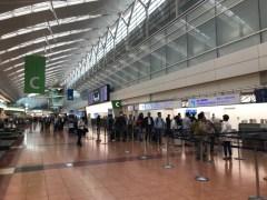 空港も当然人は多い
