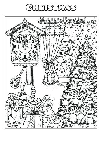 coloring book template | Coloring Page for kids