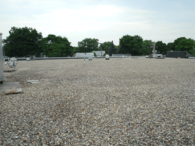 ballasted roof
