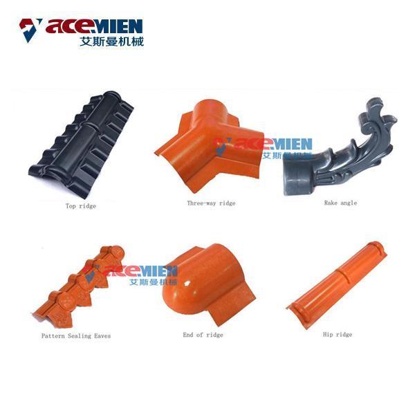 china plastic roof tile making machine manufacturer