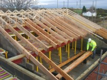 Widnes Nursing Home Bobtail Roof Truss