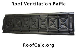 Attic Ventilation Baffle