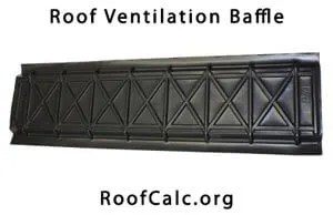 Attic Ventilation Baffle