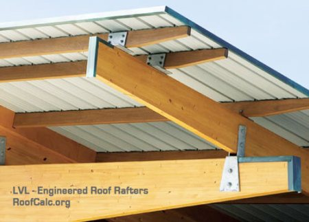 LVL - Engineered Roof Rafters