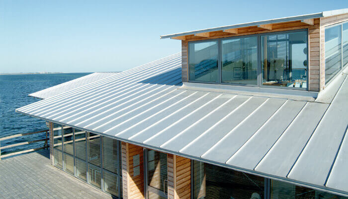 Standing Seam Roof Color Bare Metal Roofcalc Org
