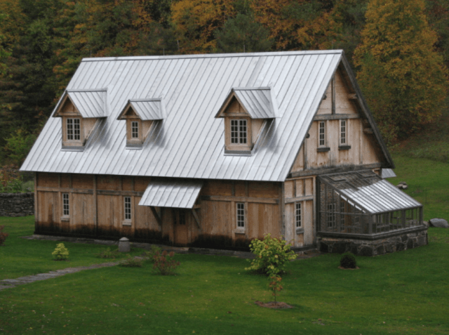 Cost of a Zinc roof on a historic house