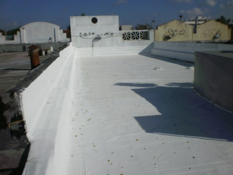 Flat Roof Coating in Miami