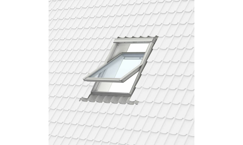 velux ggl mk04 2070 white painted centre pivot window 78cm x 98cm