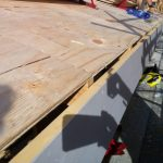 10mm air gap between plywood and fascia - roof installation tips