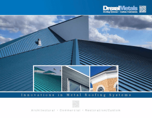 Drexel Metals has released its 2016 Product Guide, complete with updated technical information, product test and warranty information, color chart options and a complete list of products and services offered by the company.