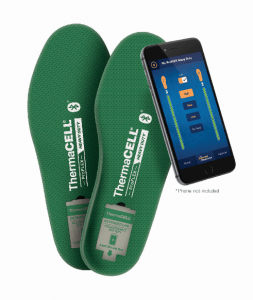 ThermaCELL Heated Insoles ProFLEX Heavy Duty operate through any smartphone via Bluetooth.