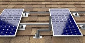 The Solar Roof Jack redesigns vent pipes so that solar panels can be installed on top of them without sacrificing vent pipe functionality and utilizes solar roof space.