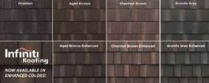 EDCO Products introduces five additional colors to its Infiniti Roofing line, metal roofing that features multi-tone layering, permanent thermal-fused texture and Whisper Quiet technology.
