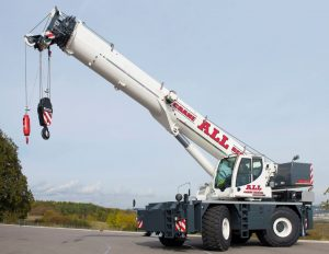 The LRT 1090-2.1 boom crane blends safety with innovation.