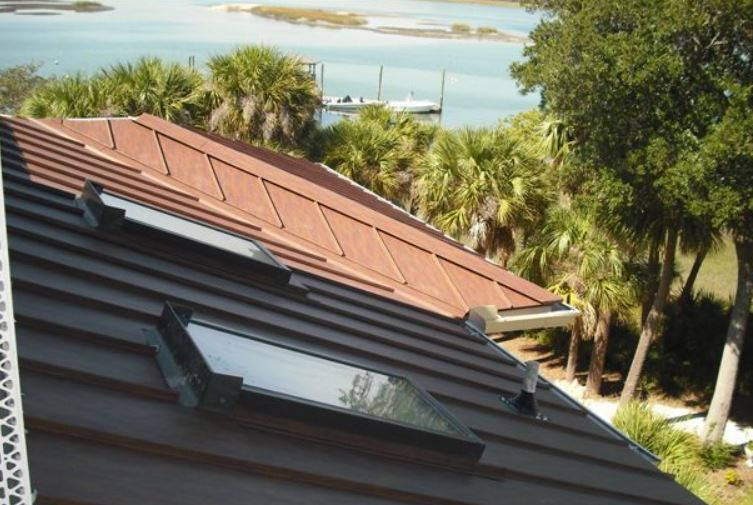Cor Ten AZP Raw Is A Fluoropolymer Coating System That McElroy Metal  Applies Over Galvalume