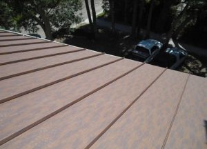 McElroy Metal's Cor-Ten AZP Raw offers the look of aged or weathered roofing and cladding.