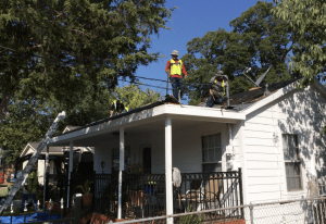 Zazo hopes to one day make his Roof Angels/A Brush with Kindness partnership one that other roofing contractors around the country can use as a model.